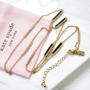 Kate Spade Raising The Bar Scatter Necklace